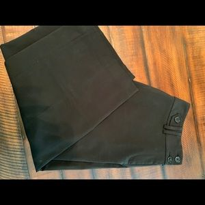 WHBM cropped business casual black pants